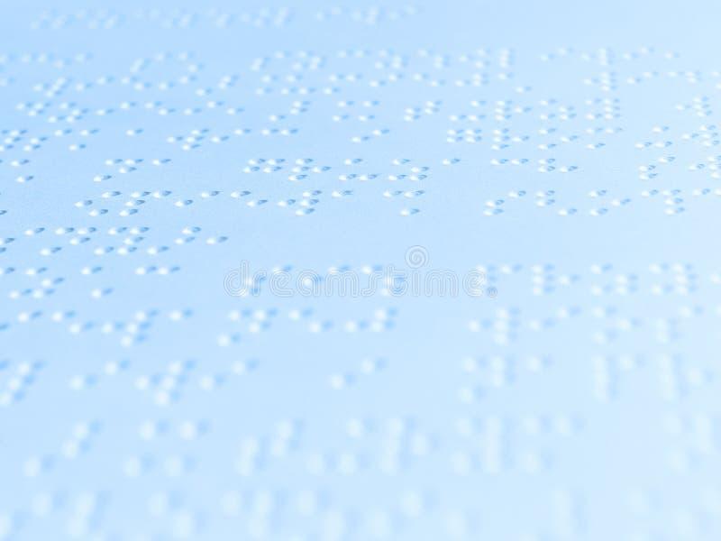 Écriture de Braille photos stock