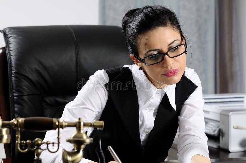 Écriture de gestionnaire photos stock