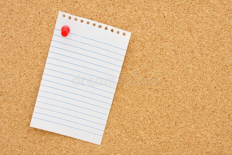 Écrivez votre propre message photographie stock