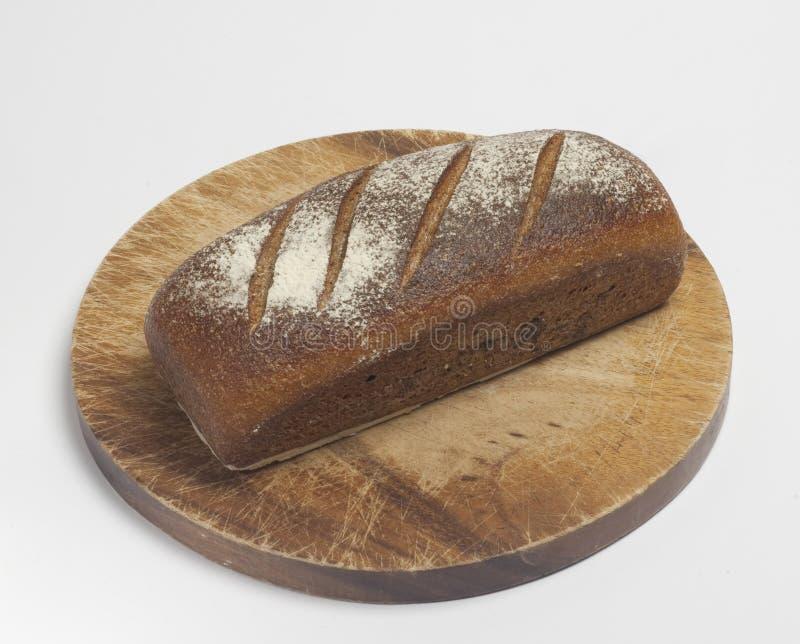 écrou de blanc de pain de blé de plein-grain photographie stock libre de droits