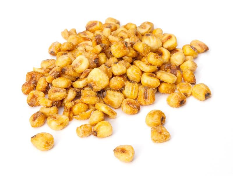 Écrous rôtis de maïs images stock