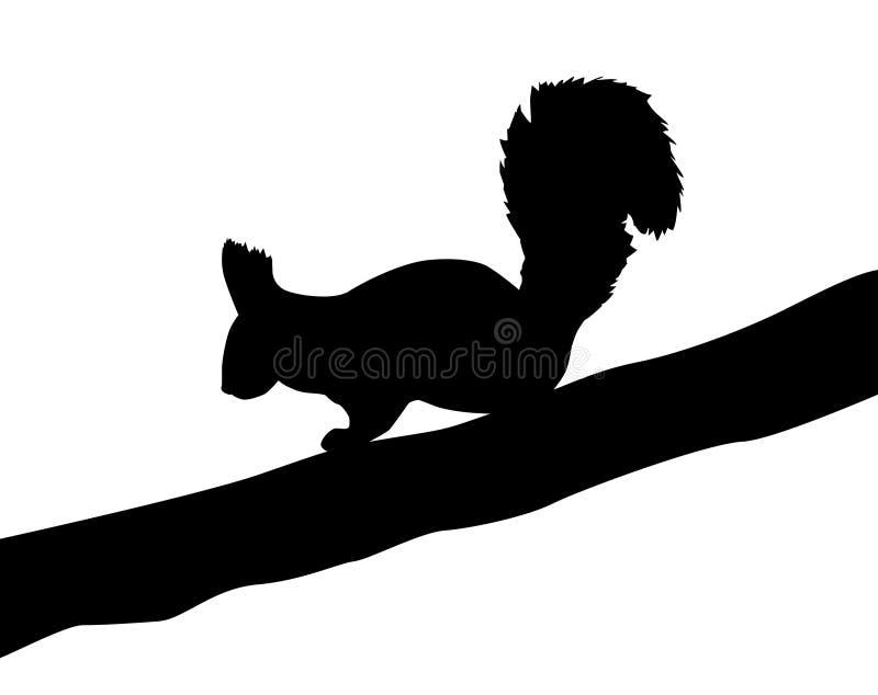 Écureuil illustration stock