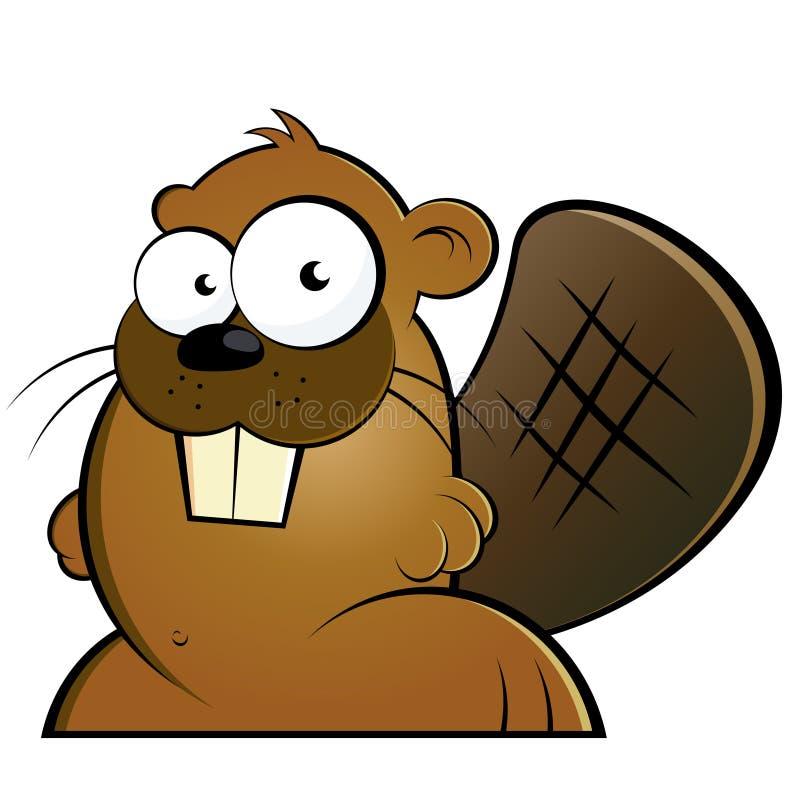 Écureuil mignon illustration de vecteur