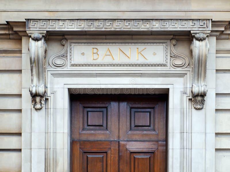 Édifice bancaire image libre de droits