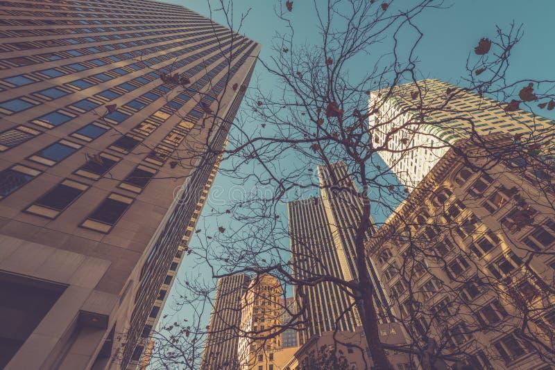Édifices hauts à San Francisco photos stock