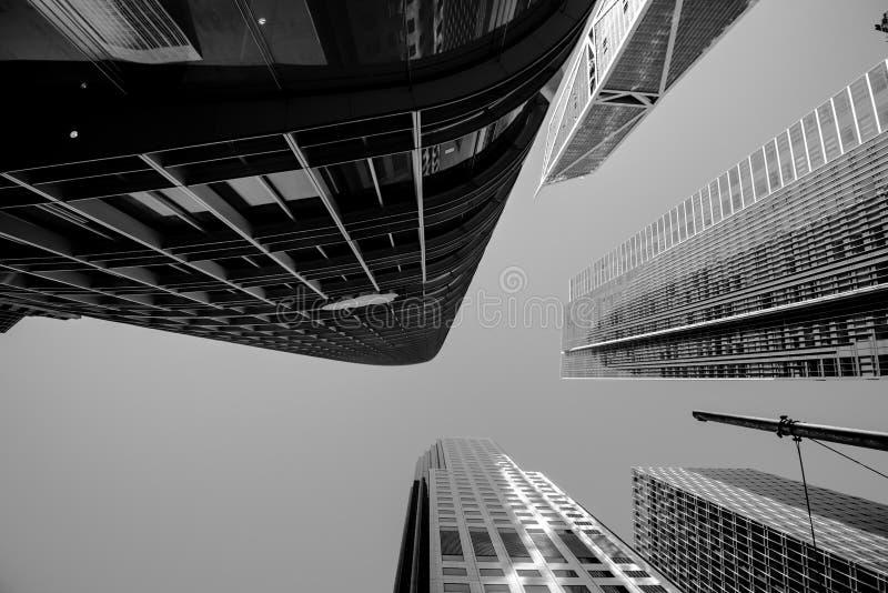 Édifices hauts dans le secteur financier du ` s de San Francisco photographie stock