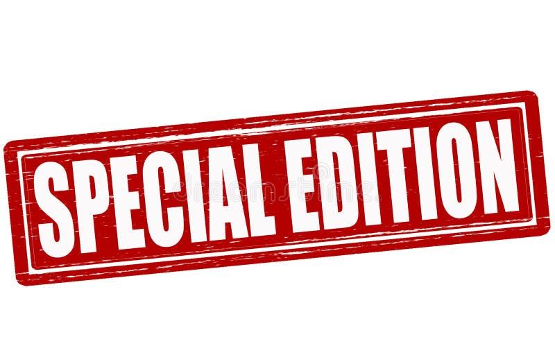 Édition spéciale illustration stock