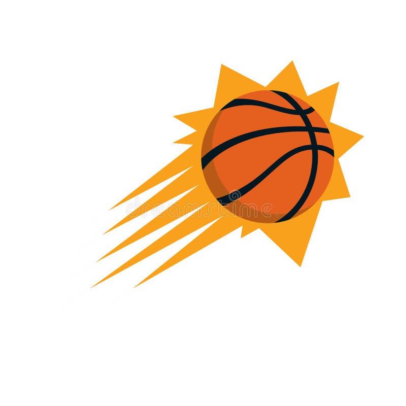 Éditorial - NBA de Phoenix Suns illustration stock