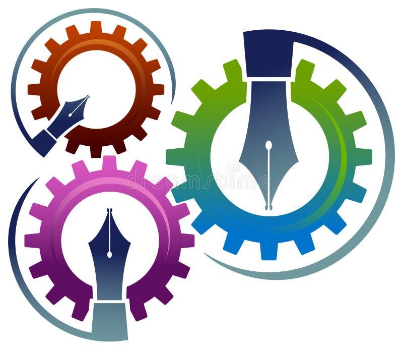 Éducation des industries illustration libre de droits