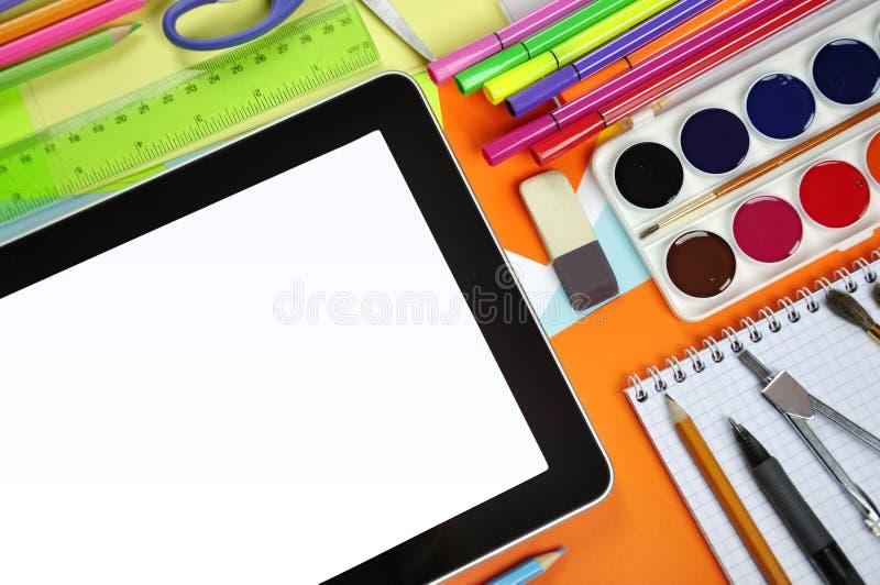 Éducation en ligne photographie stock libre de droits