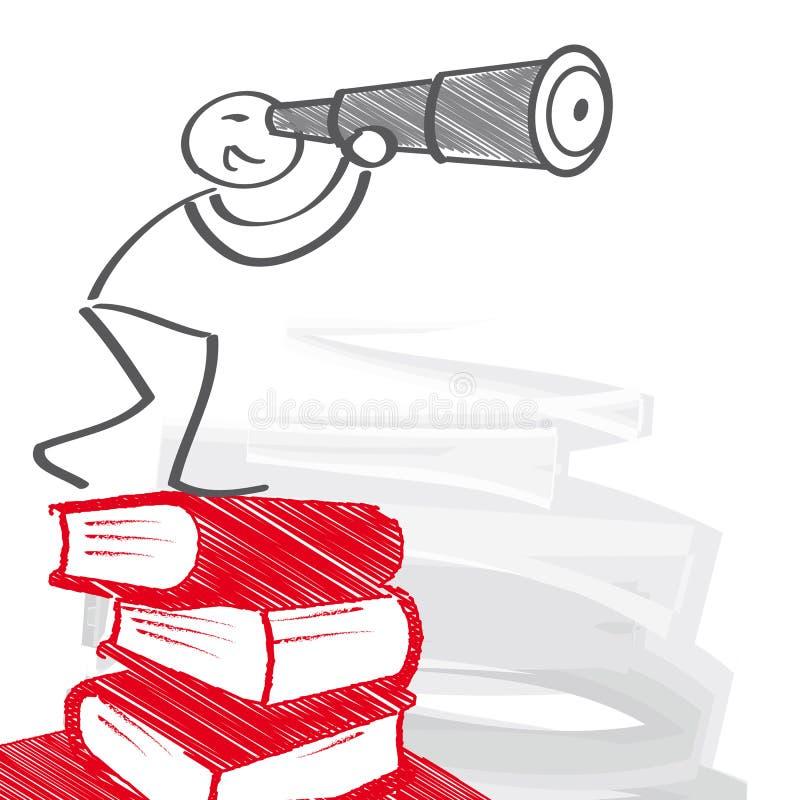 Éducation et Carreer illustration stock