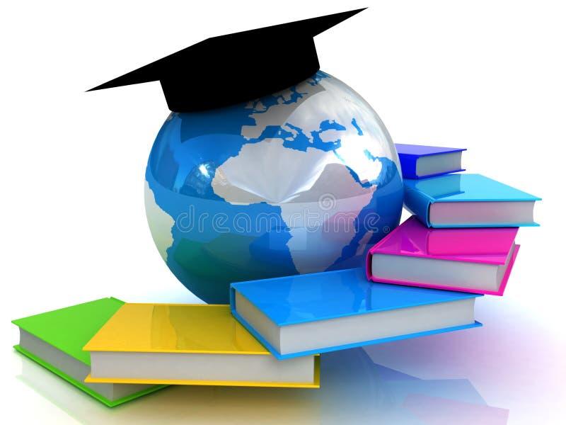 Éducation globale illustration de vecteur