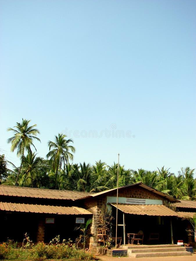 Éducation rurale indienne images stock