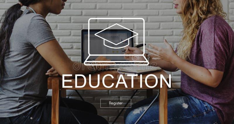 Éducation scolaire apprenant le concept de graphique de sagesse photos stock
