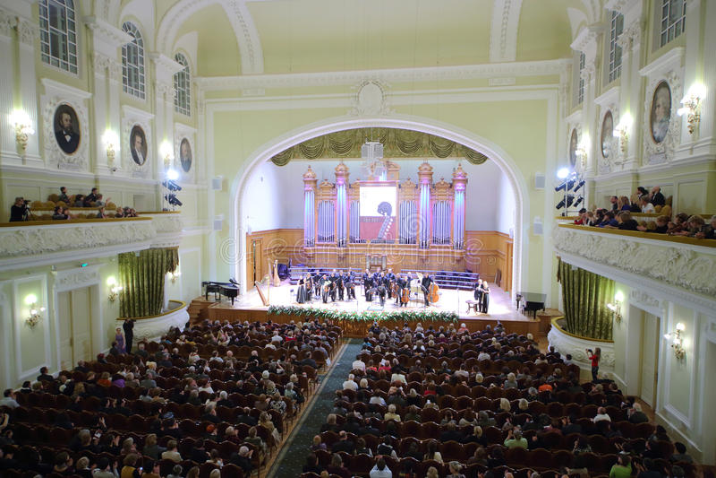 Égaliser de gala consacré au 100th anniversaire de l'association Tout-russe de musée image libre de droits