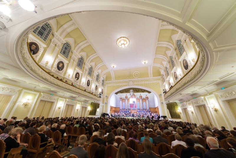 Égaliser de gala consacré au 100th anniversaire de l'association Tout-russe de musée image stock