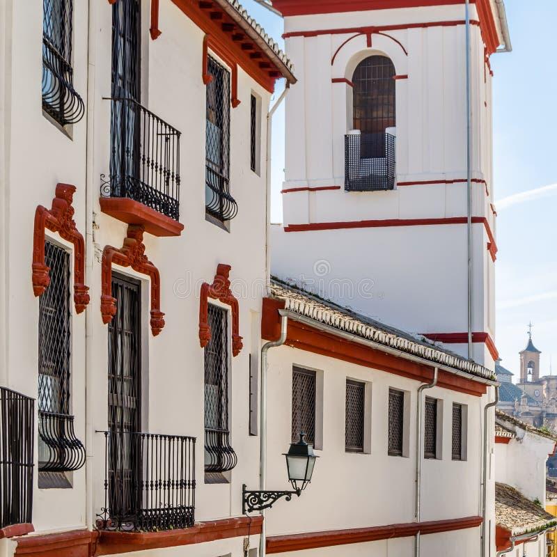 Église à Grenade, Espagne photographie stock libre de droits