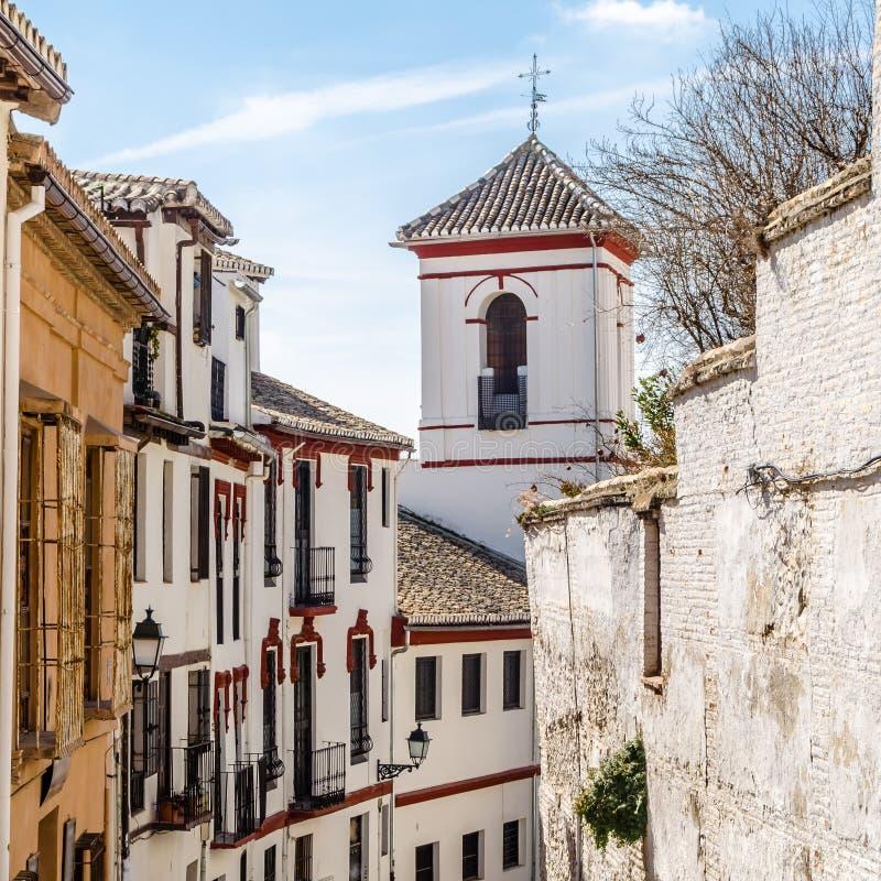 Église à Grenade, Espagne image stock