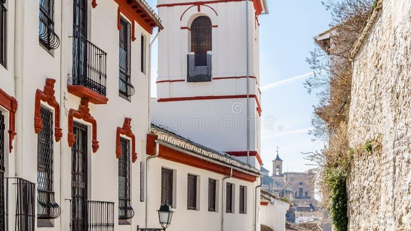 Église à Grenade, Espagne photos stock