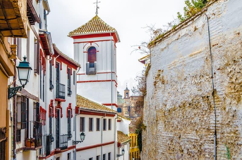 Église à Grenade, Espagne photo libre de droits