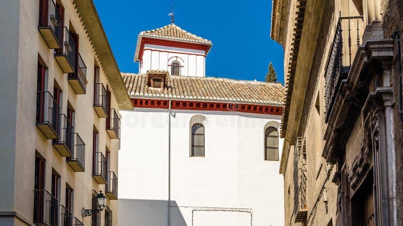 Église à Grenade, Espagne photos libres de droits