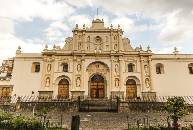 Église à l'Antigua, Guatemala photographie stock libre de droits