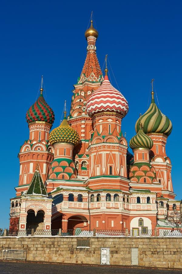 Église à Moscou - cathédrale de St Basil images stock