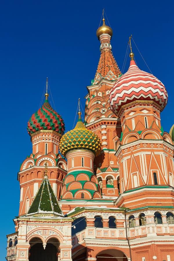 Église à Moscou - cathédrale de St Basil photographie stock libre de droits