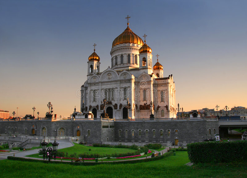 Église à Moscou, Russie photo stock