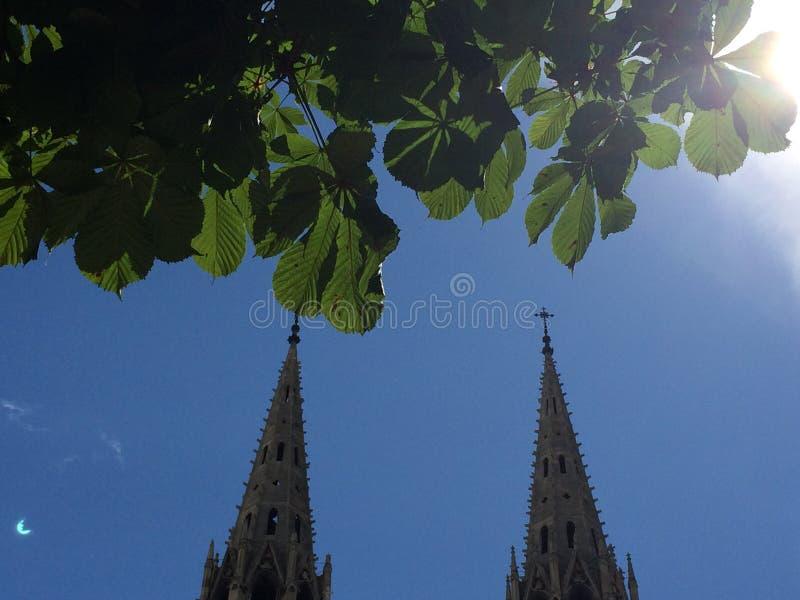Église à Paris photos libres de droits
