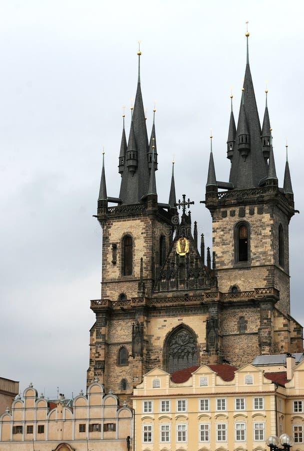Église à Prague photos stock