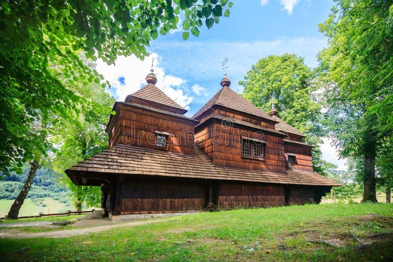 Église, église de Lemko dans Smolnik, Pologne photos libres de droits