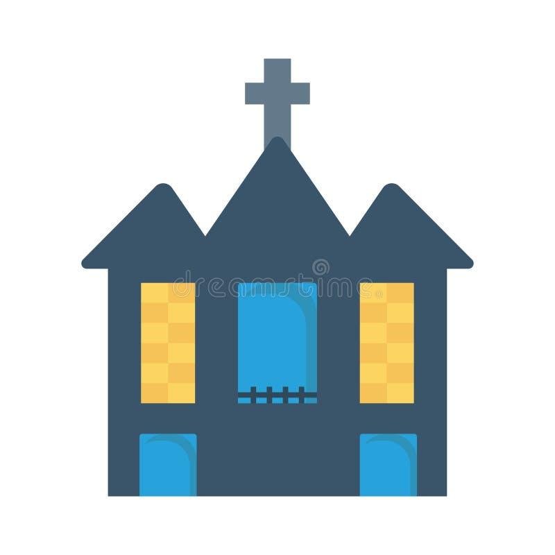 Église illustration stock