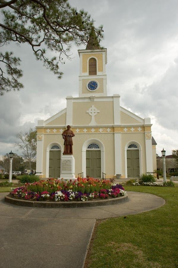 Église acadienne images stock