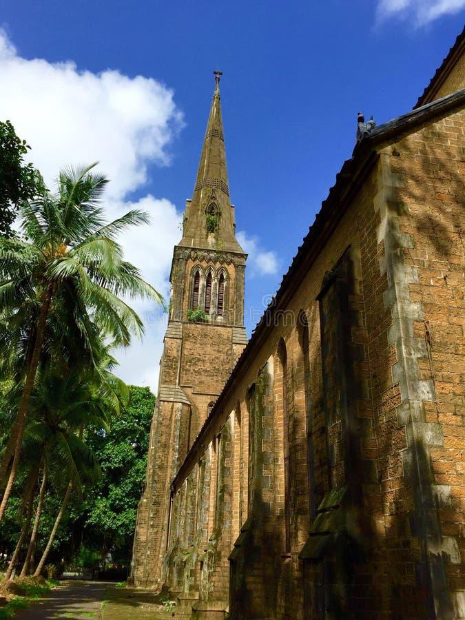 Église afghane, Mumbai, Inde photo stock