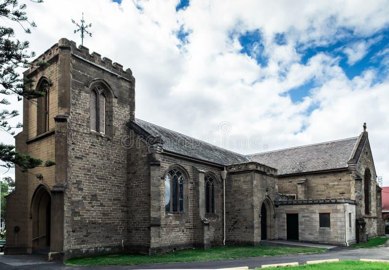 Église Anglicane d'église du Christ dans Geelong image stock