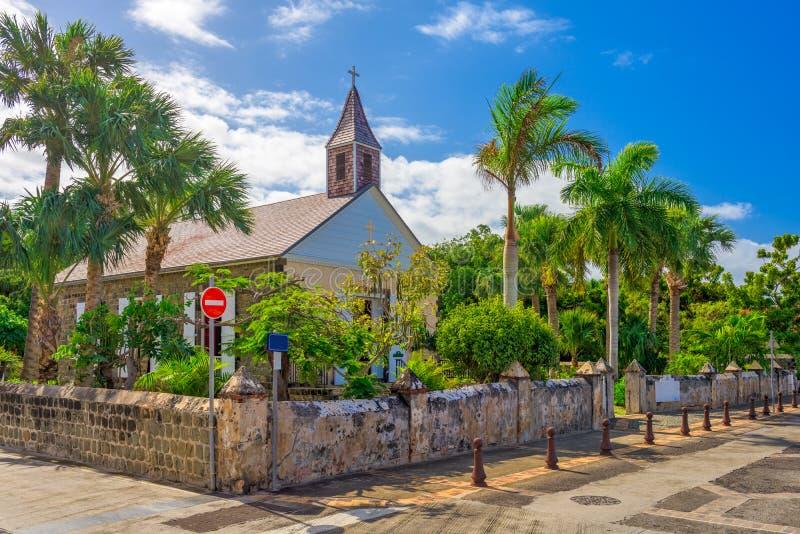 Église Anglicane de St Barthelemy photo stock