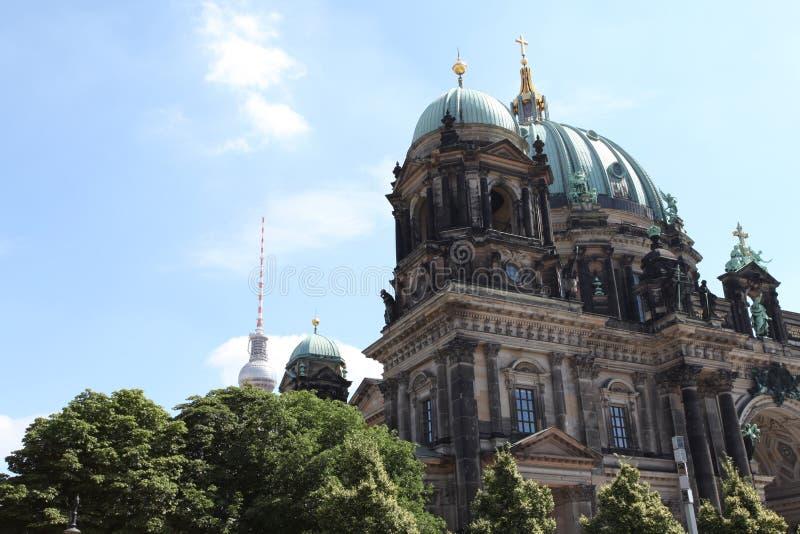 Église antique de Berlin Germany images libres de droits