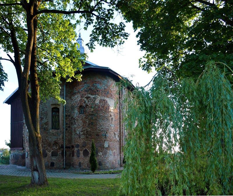 Église antique de Kolozha images stock