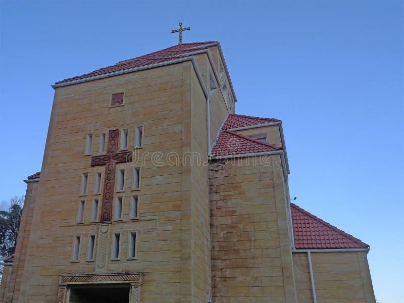 Église apostolique arménienne en Adler, Russie photographie stock libre de droits