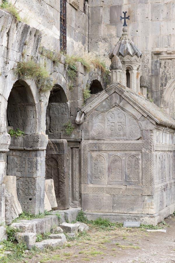 Église apostolique arménienne Paysage de montagne, le monastère photos stock