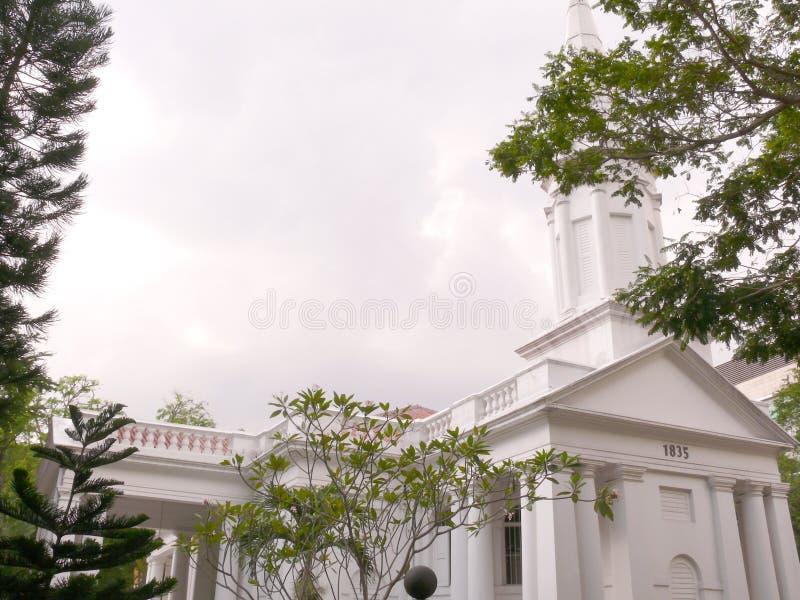 église arménienne Singapour photo stock