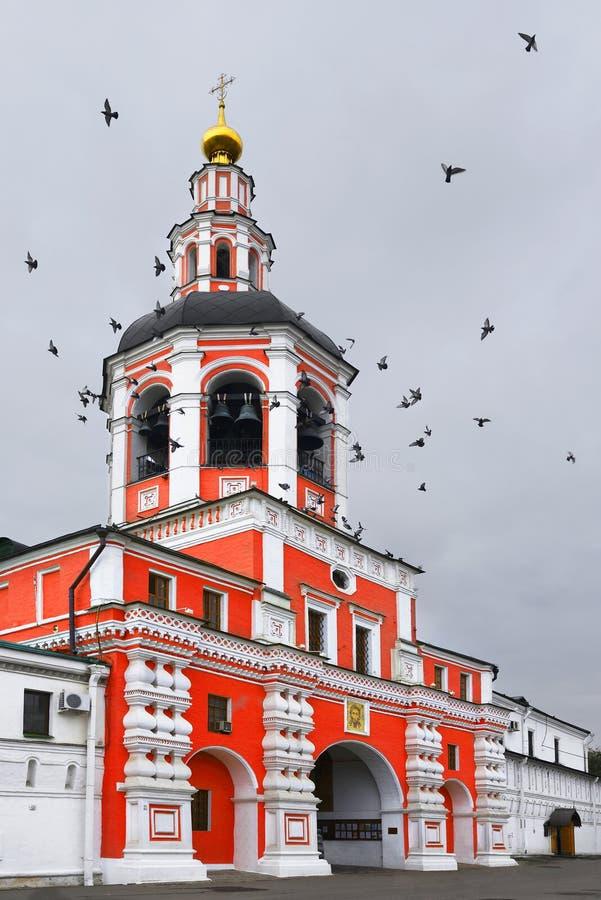 Église au-dessus des portes de St Simeon Stylite photo stock