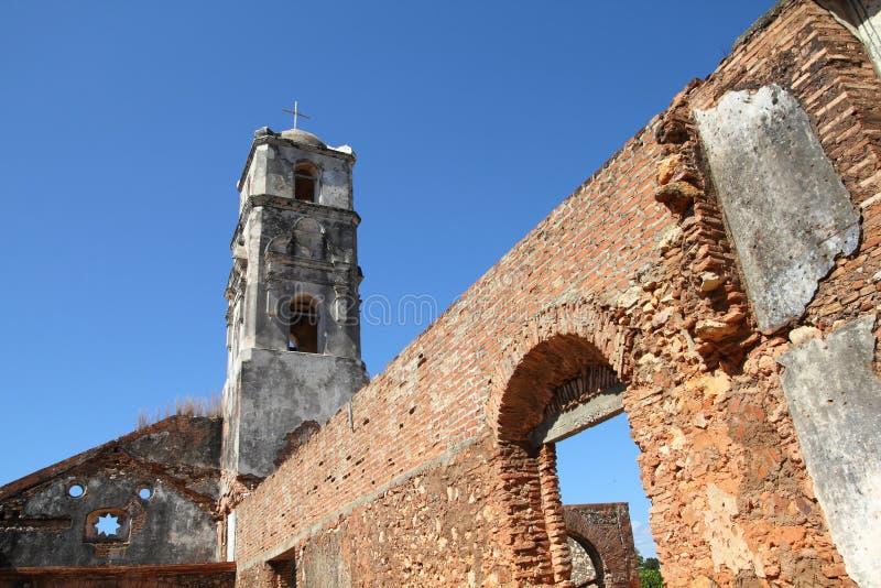 ÉGLISE AU TRINIDAD, CUBA photo libre de droits