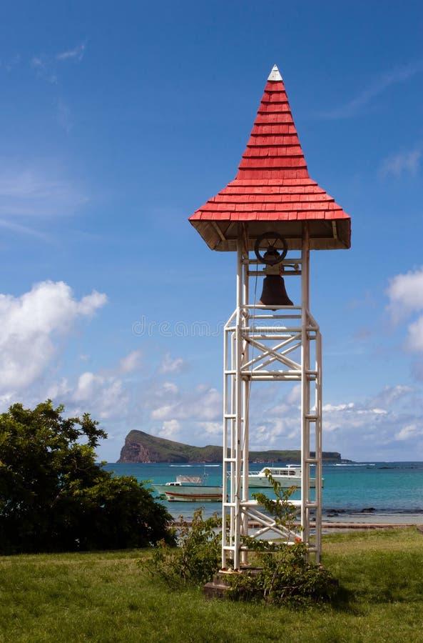 Église Bell dans le capuchon Malheureux, Îles Maurice image stock