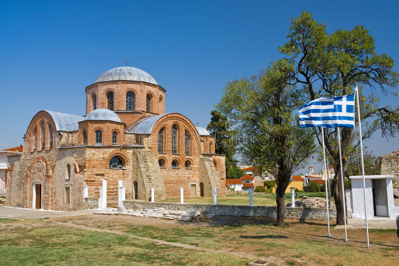 Église bizantine images stock