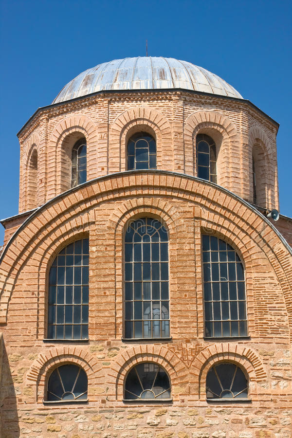 Église bizantine photo stock