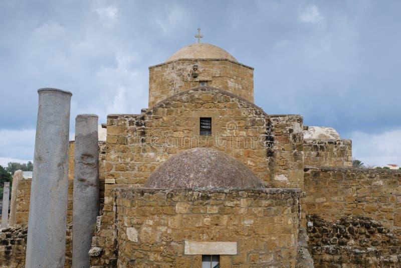 Église bizantine en Chypre image stock