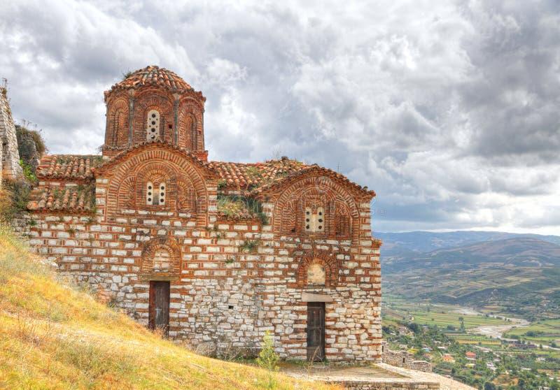 Église bizantine orthodoxe de type image stock