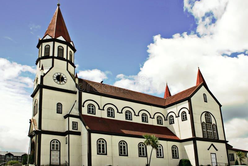 Église blanche image libre de droits